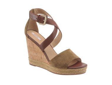 """Elegantné """"Boho"""" sandále khaki-hnedé"""