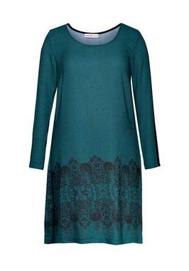 Elegantné petrolejové šaty Sheego