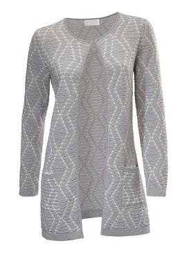 Elegantný žakárový sveter Ashley Brooke