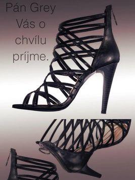 Exkluzívne ramienkové sandále MISS SIXTY