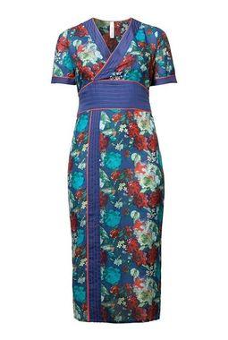 Extravagantné kvetinové šaty Sheego