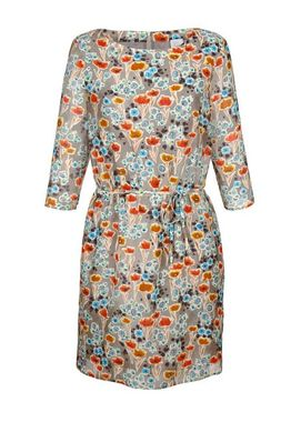 Farebné hodvábne šaty, ALBA MODA