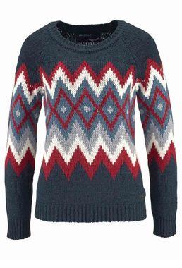Farebný pulóver s nórskym vzorom ARIZONA