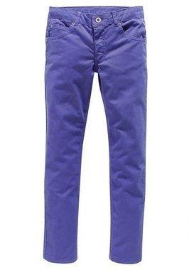 Fialové strečové džínsy CFl