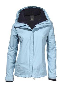 Funkčná bunda 2-v-1, svetlo modrá