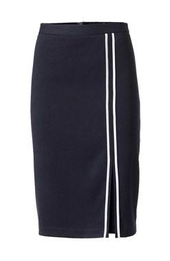 Heine púzdrová sukňa, modro - biela