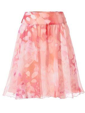 Heine šifónová sukňa kvetinova