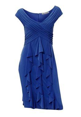 Indigo modré šaty Ashley Brooke