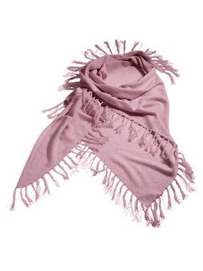 Kašmírový ružový šál