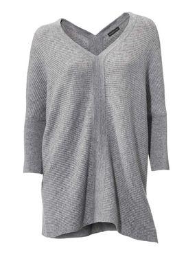 Kašmírový sveter, sivý PATRIZIA DINI