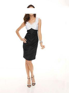 Kokteilové krátke šaty Ashley Brooke
