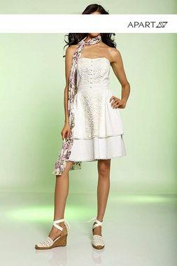Korzetové šaty s čipkou APART