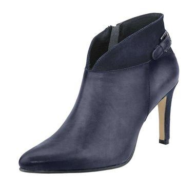 Kotníkové kožené topánky HEINE