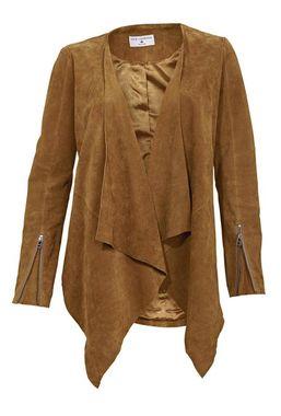 Kožená bunda, koňaková Rick Cardona
