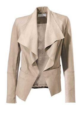 Kožená púdrová bunda Travel Couture by Heine