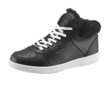 Kožené botasky na zimu Pepe Jeans