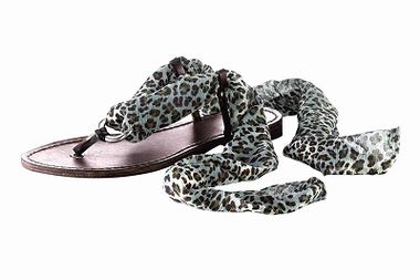 Kožené sandále HEINE - Chillany