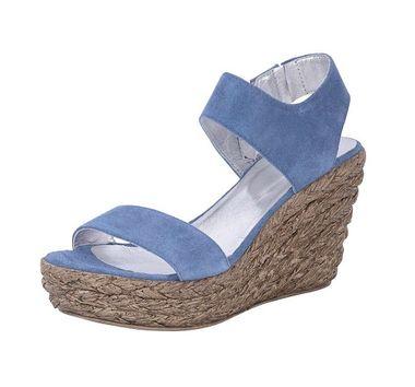 Kožené sandále na platforme HEINE - B.C.
