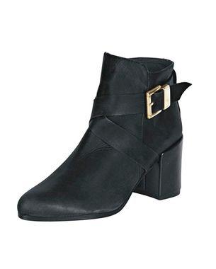 Kožené topánky so sponou HEINE