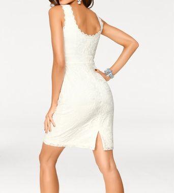 Krajkové biele šaty Carry Allen by Ella Singh