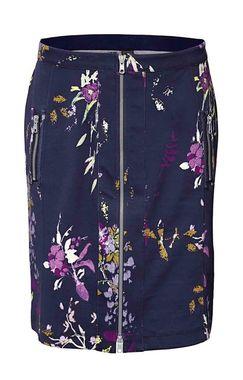 Kvetinová sukňa so zipsom HEINE - B.C.