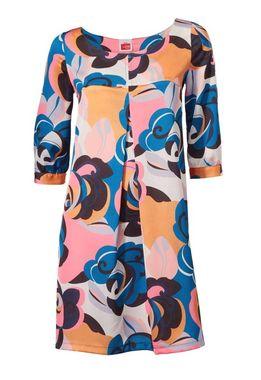 Kvetované šaty do áčka Travel Couture