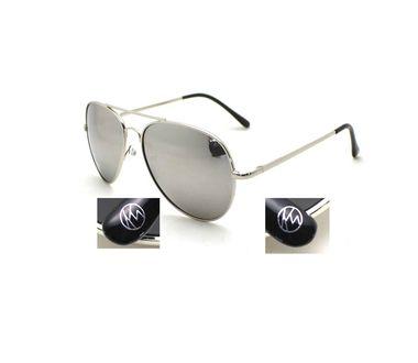 KW slnečné okuliare Ibiza - so striebornými zrkadlovými šošovkami