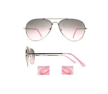 KW slnečné okuliare Ibiza , strieborno - ružové