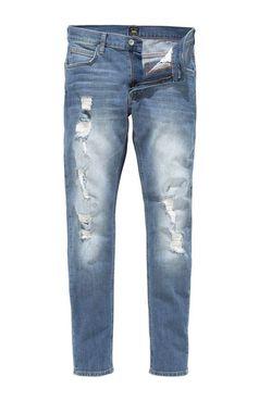 LEE pánske džínsy, svetlo modré