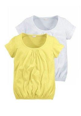 Letné detské tričká 2ks Petite Fleur