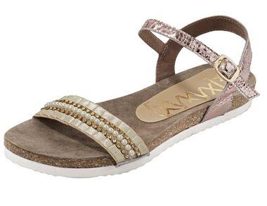 Letné sandále s korálkami xyxyx