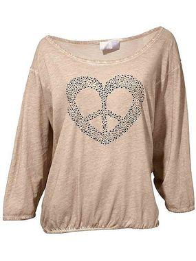 Ležérne bavlnené tričko HEINE