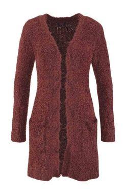 Mäkký dlhý sveter Buffalo