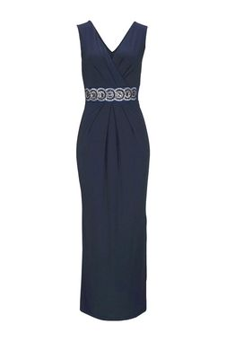 Melrose večerné šaty s. kamienkami, modrá