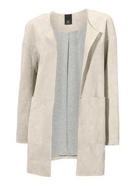Kožený kabát Heine, piesková