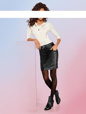 Kožená sukňa HEINE - B.C.
