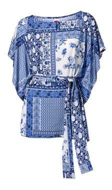 Očarujúca tunika s opaskom Travel Couture