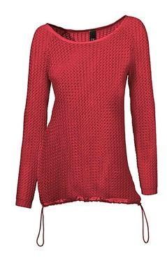 Padavý červený pulóver HEINE - B.C.