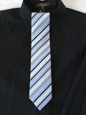 Pánska modrá kravata