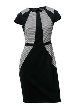 PATRIZIA DINI púzdrové šaty , čierno-biele