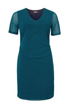 Petrolejové šaty TRIANGLE by s.Oliver