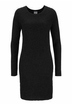 Pletené čierne šaty VERO MODA