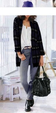 Pletený kabát s 3/4 rukávmi HEINE - B.C.