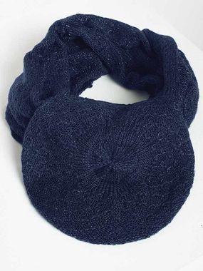 Pletený modrý set HEINE