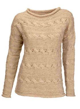 Pletený pieskový sveter HEINE - B.C.