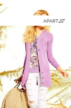 Pletený dlhý sveter APART