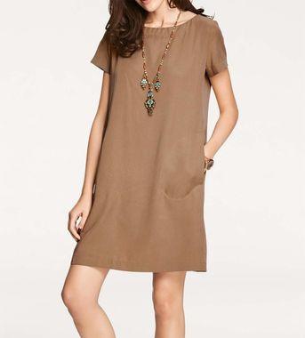 Pohodlné šaty hnedé, Rick Cardona