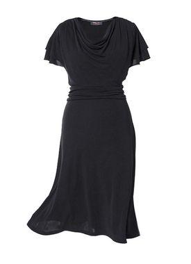 Príťažlivé čierne šaty Anna Sholtz