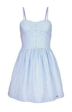 Retro modré šaty Superdry