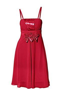 Romantické červené šaty Ashley Brooke event